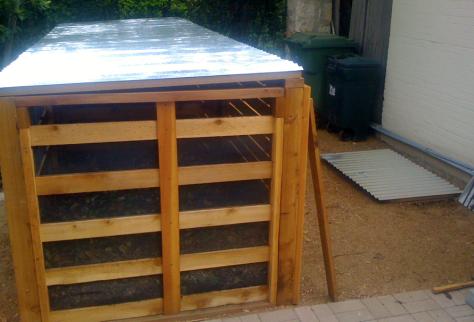 Download Build Wood Worm Compost Bin Plans Diy Beautiful