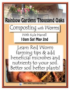 Composting with worms Thousand Oaks
